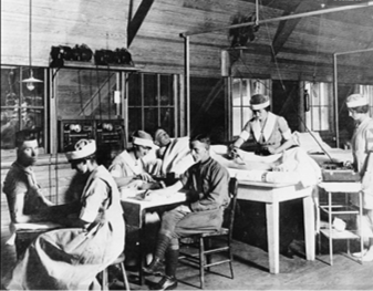 Reconstruction Aides at Fort Sam 1919